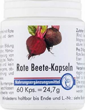Pharma Peter Rote Beete Kapseln, 60 Stück günstiger Preis ...